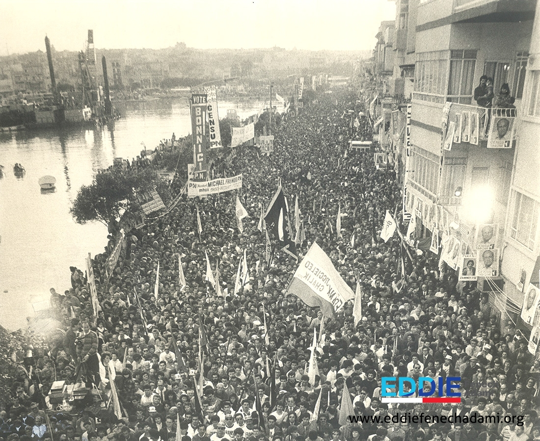 Msida 1987 Mass Meeting - 1