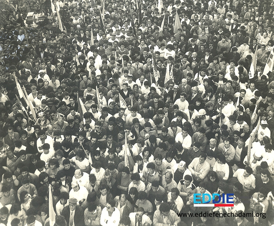 Msida 1987 Mass Meeting - 2
