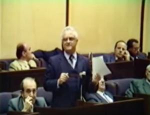 Eddie Fenech Adami: 'An Irrelevant Budget', 1986
